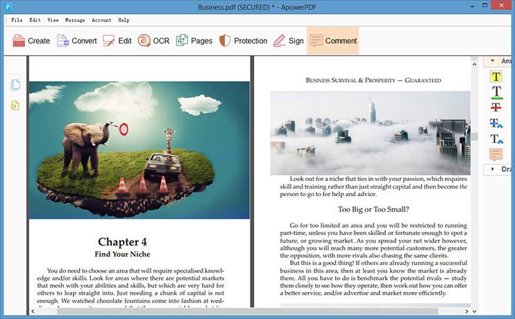 komentovat PDF