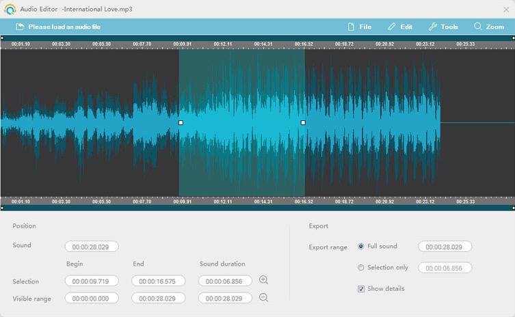 edit audio